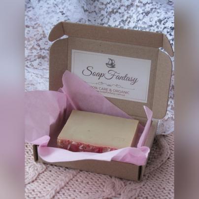 Подарочная коробка с мылом (1 шт)