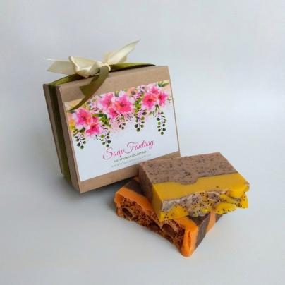 Подарочный набор с мылом (2шт)