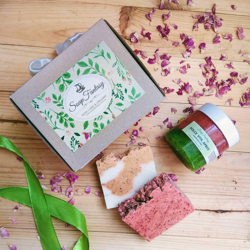 GiftBox #3 (мыло и скраб для тела)