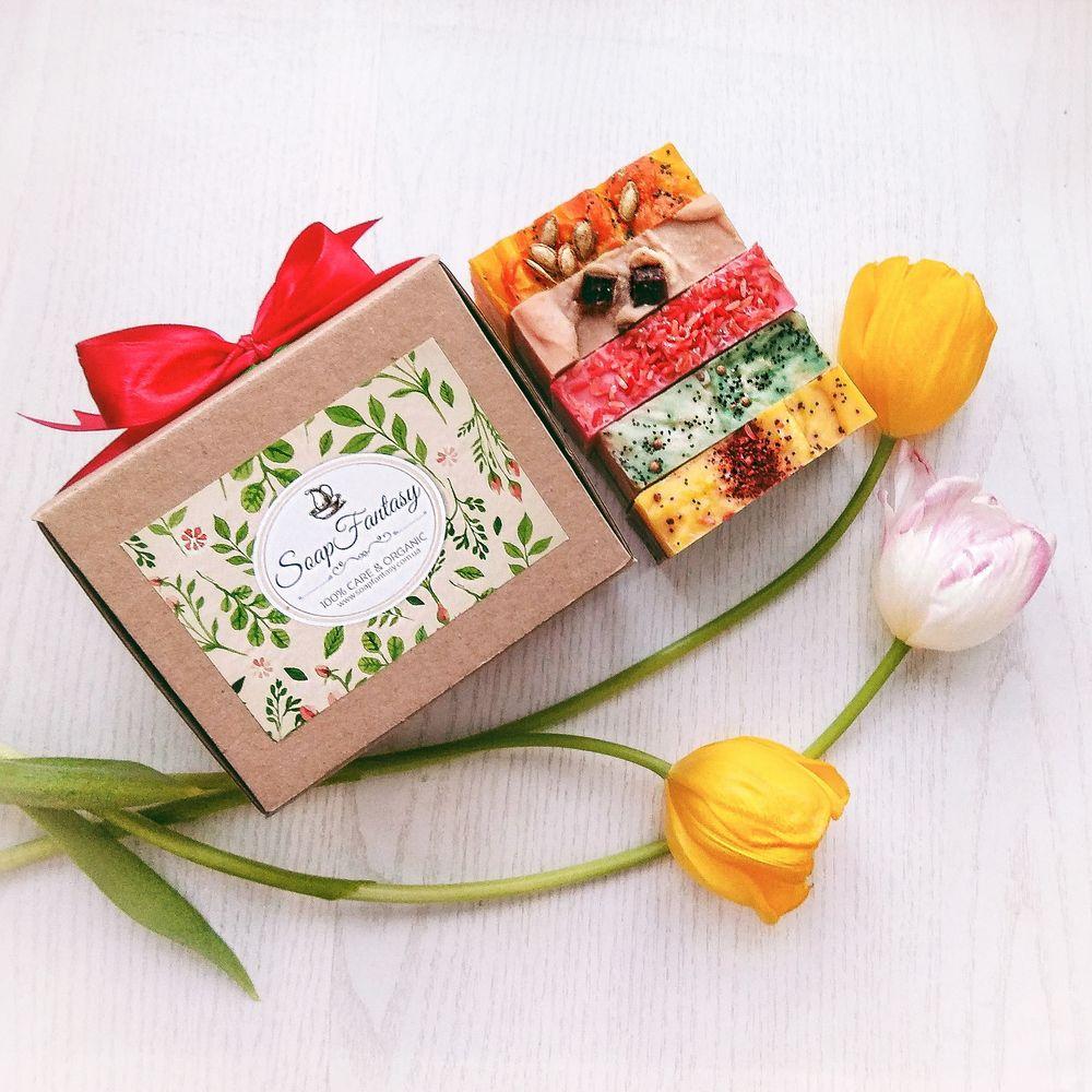 """Подарочный набор с мылом (5 шт)  """"Spring"""""""