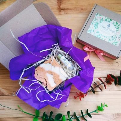 GiftBox #1 (мыло и бальзам для губ)