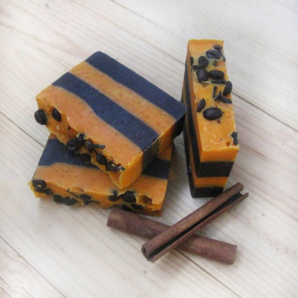 """Мыло с корицей """"Апельсин+Корица"""""""